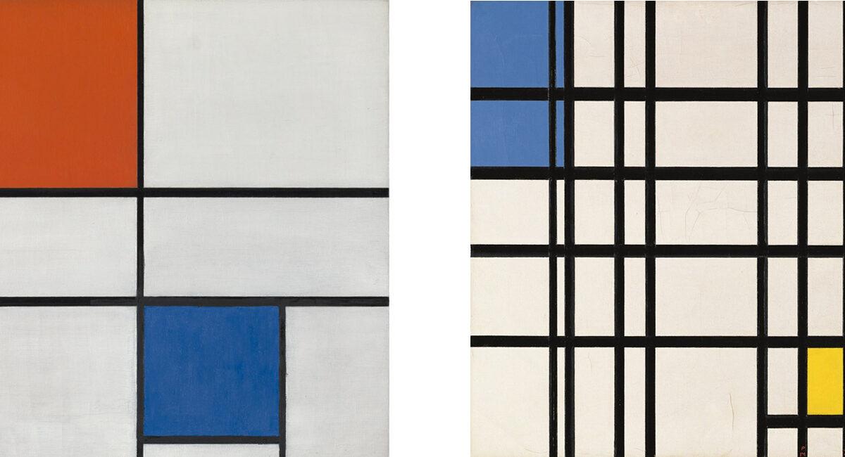 La experiencia de contemplar un Mondrian