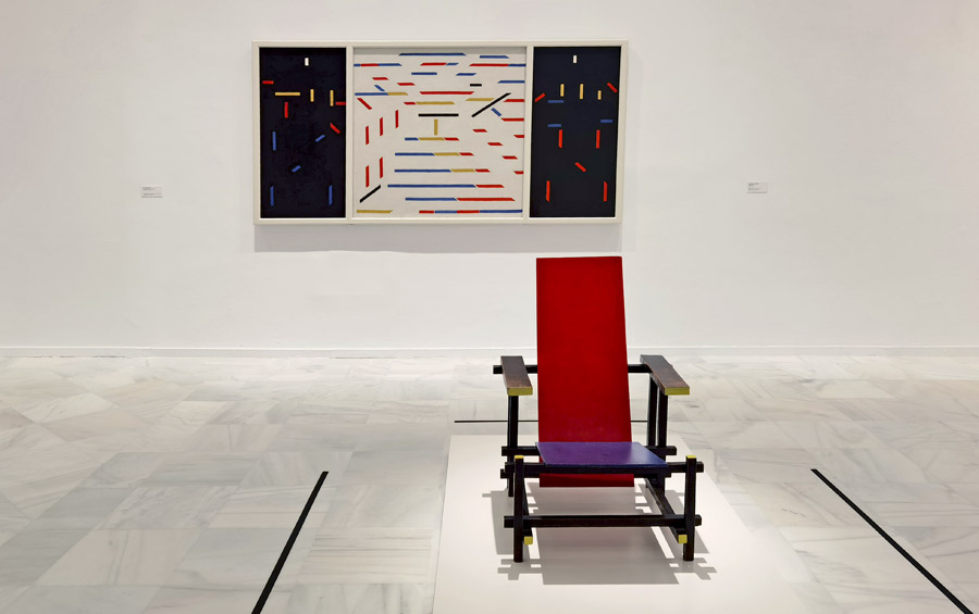 Mondrian y De Stijl. Hacer accesible el arte a través de líneas