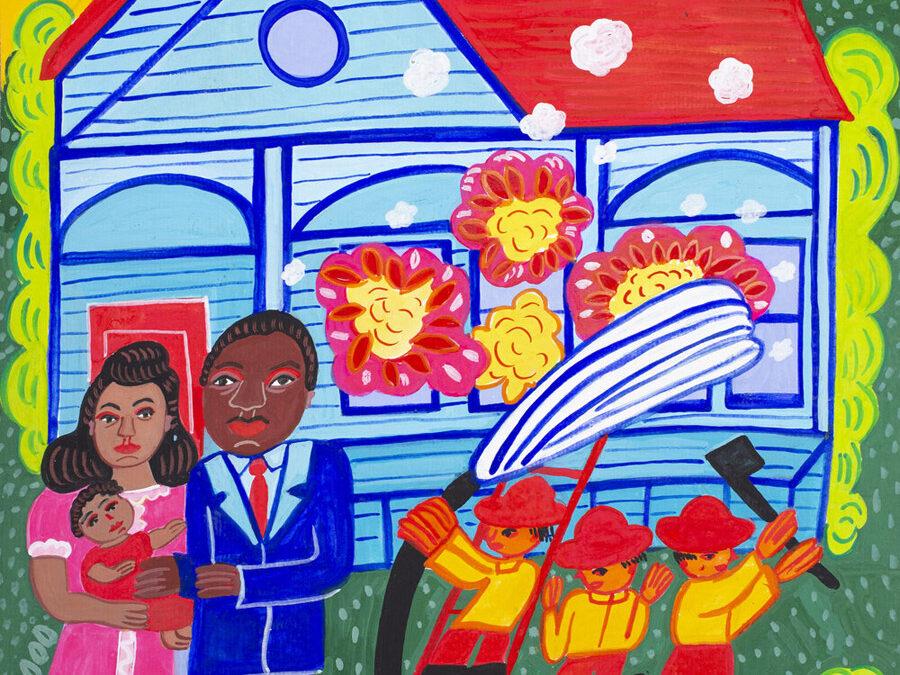 Malcah Zeldis rememora la figura de Martin Luther King