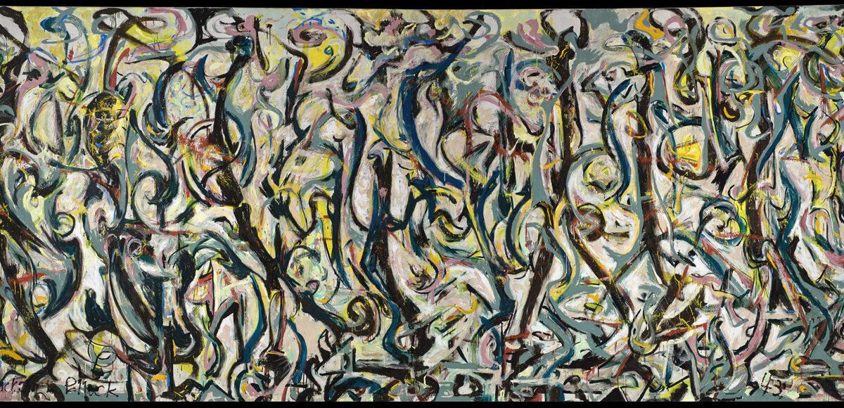 Un tributo a 'Mural' de Jackson Pollock