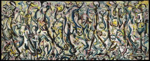 Jackson Pollock | Mural | Museo Guggenheim | StyleFeelFree