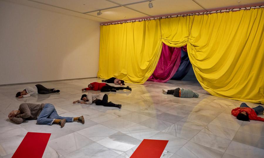 La danza y las artes visuales conversan en el CAAM