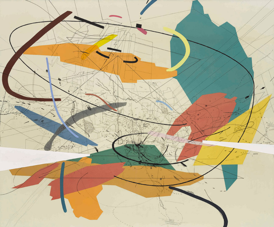 Julie Mehretu | Museo Whitney | StyleFeelFree
