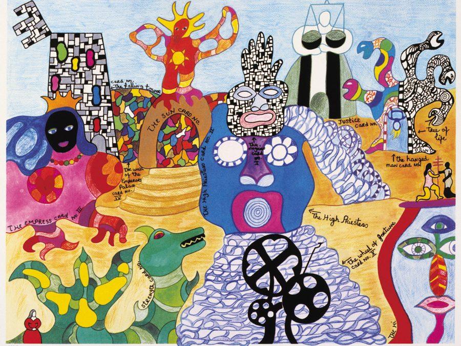 Niki de Saint Phalle. Habitar la obra de arte