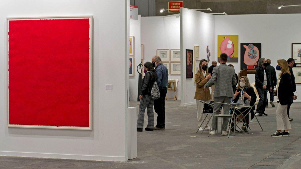 Estampa marca el retorno de las ferias de arte a la presencialidad