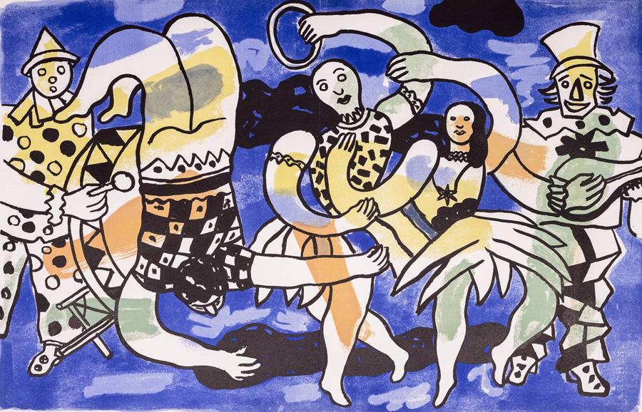 Fernand Léger en la búsqueda de la alegría